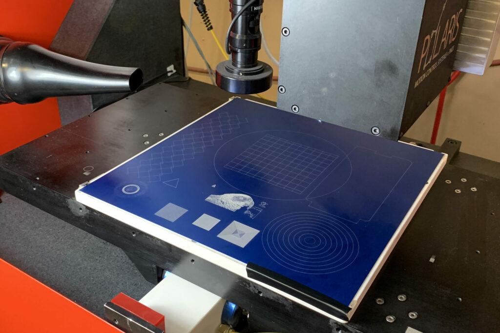 Polaris Laser CNC IFOV