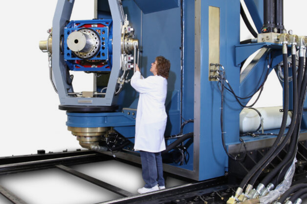 Image of an aerospace test system application