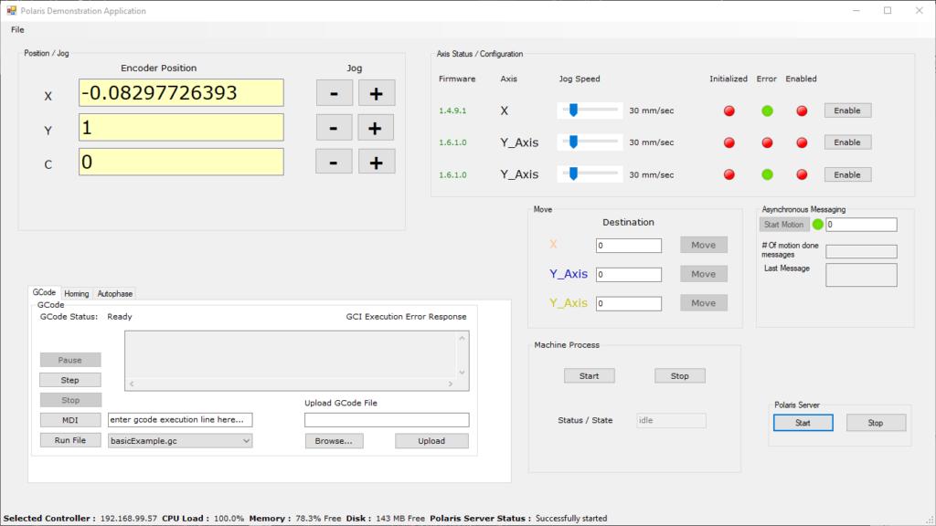 Image of 3-Axis CNC Demo HMI