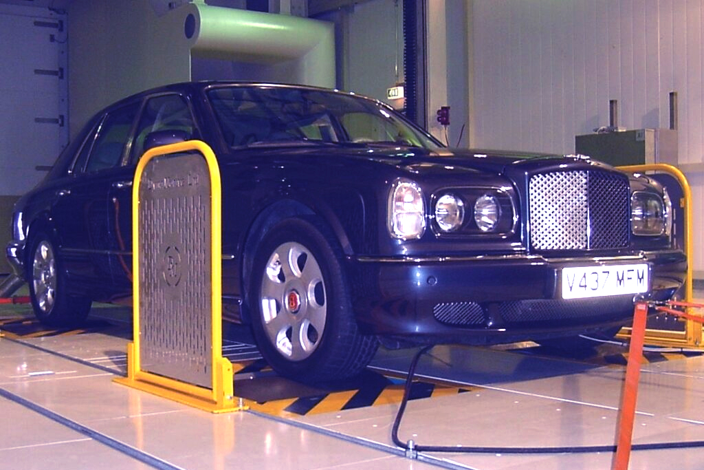 Image of a vehicle test system application