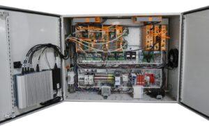 Mundt's Machine Electronics Cabinet